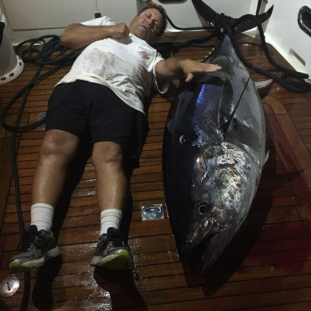 Make-A-Wish® Tuna Challenge Winner – Mikelson Nomad Owner Tony Dileva Wins