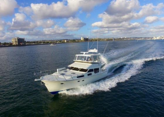 Mikelson 50 Yacht White Exterior