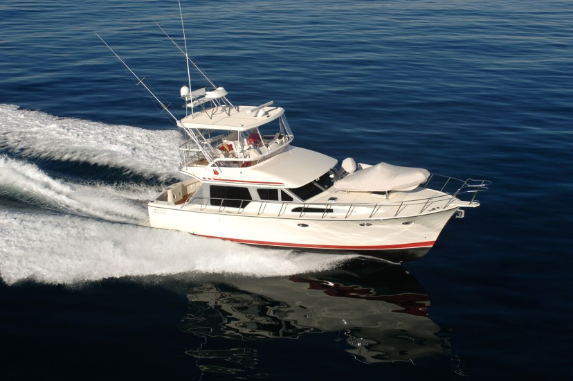 Mikelson 43 Sportfisher Exterior Aerial View