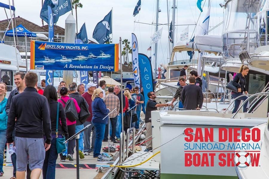San Diego Sunroad Boat Show January 24-27 2019