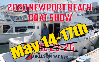 2020 Newport Beach Boat Show Postponed…